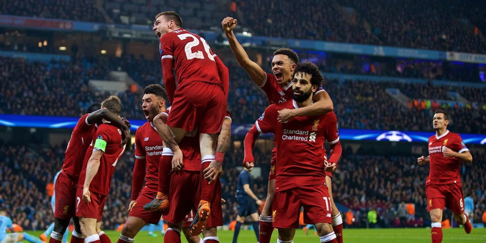 Highlights Liga Champions: Manchester City 1-2 Liverpool