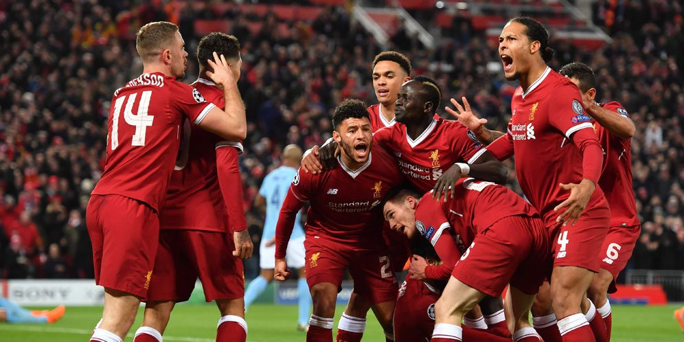 Highlights Liga Champions: Liverpool 3-0 Manchester City