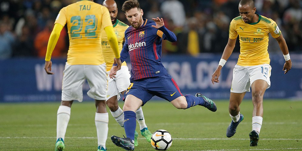 Highlights Club Friendly: Mamelodi Sundowns 1-3 Barcelona