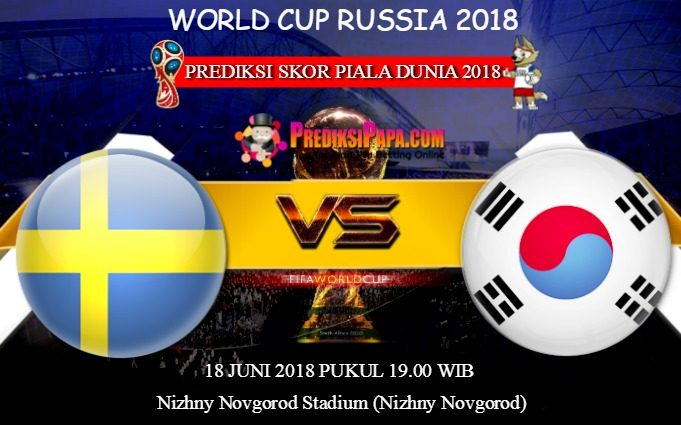 Prediksi Skor World Cup Sweden vs South Korea 18 Juni 2018