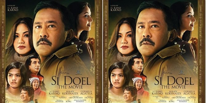 Trailer 'SI DOEL THE MOVIE', Kegalauan Doel di Antara Zaenab dan Sarah