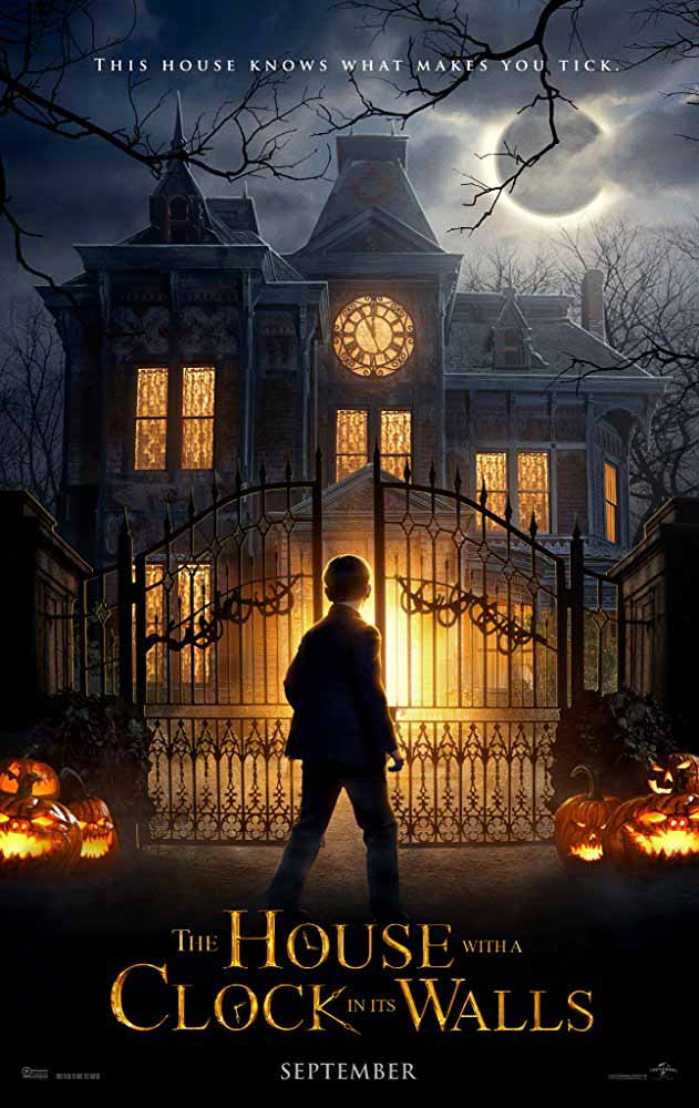Sinopsis Film The House With A Clock In Its Walls (2018)