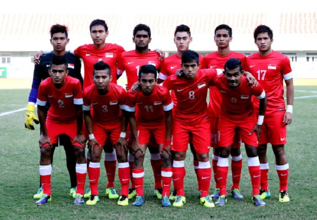 Singapura U-23 Legawa Gagal Ke Asian Games