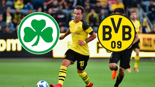 Nonton Siaran Live Streaming Greuther Furth vs Dortmund HD TV Online Bola Malam Hari Ini 2018