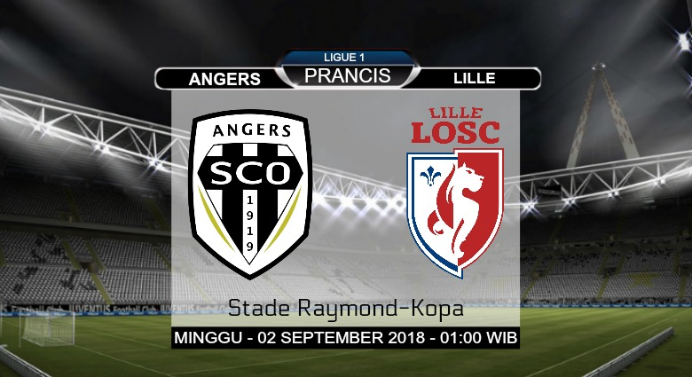 Prediksi Skor Angers vs Lille 02 September 2018