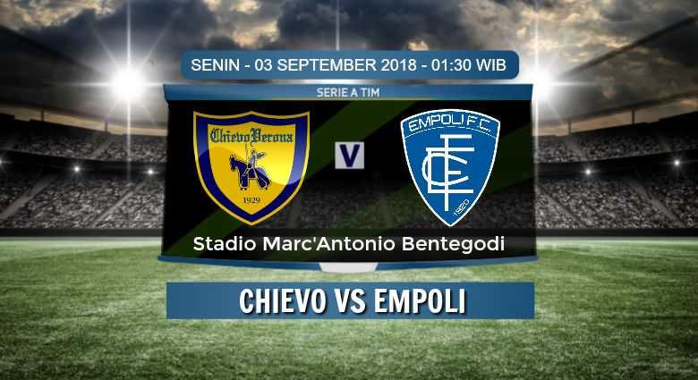 Prediksi Skor Chievo vs Empoli 03 September 2018