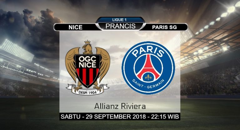 Prediksi Skor Nice vs Paris SG 29 September 2018