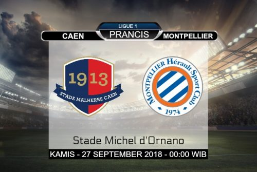 Prediksi Skor Caen vs Montpellier 27 September 2018