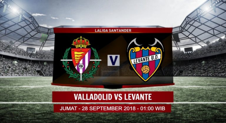 Prediksi Skor Valladolid vs Levante 28 September 2018