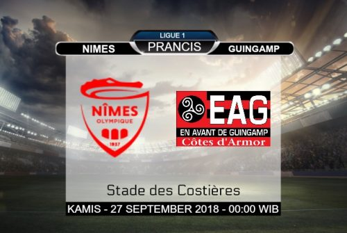 Prediksi Skor Nimes vs Guingamp 27 September 2018