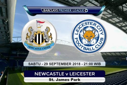 Prediksi Skor Newcastle vs Leicester 29 September 2018
