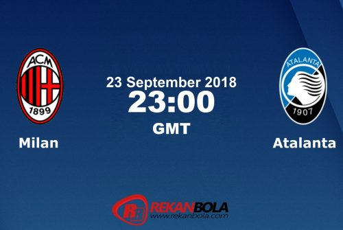 Nonton Siaran Live Streaming AC Milan Vs Atalanta 23 September 2018