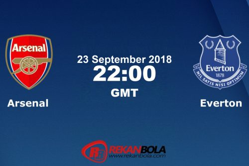 Nonton Siaran Live Streaming Arsenal Vs Everton 23 September 2018