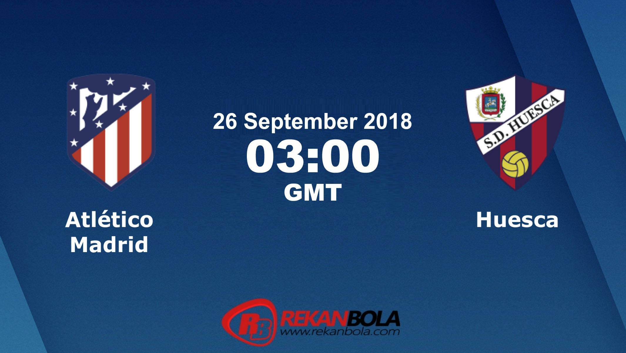 Nonton Siaran Live Streaming Atlético Vs Huesca 26 September 2018