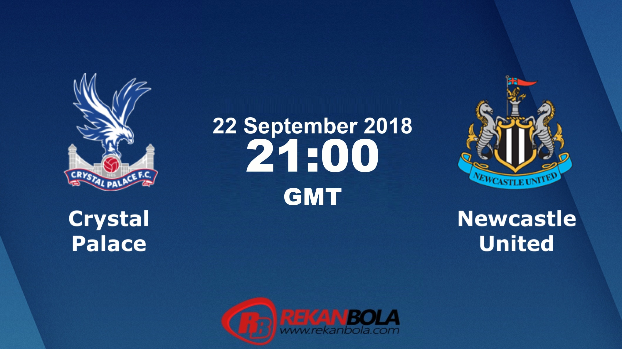 Nonton Siaran Live Streaming Crystal Vs Newcastle 22 September 2018