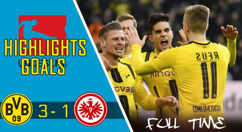 Video Gol Dortmund vs Frankfurt (3 – 1)