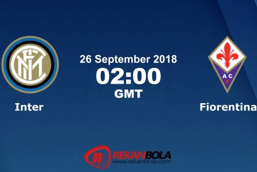 Nonton Siaran Live Streaming Inter Vs Fiorentina 26 September 2018