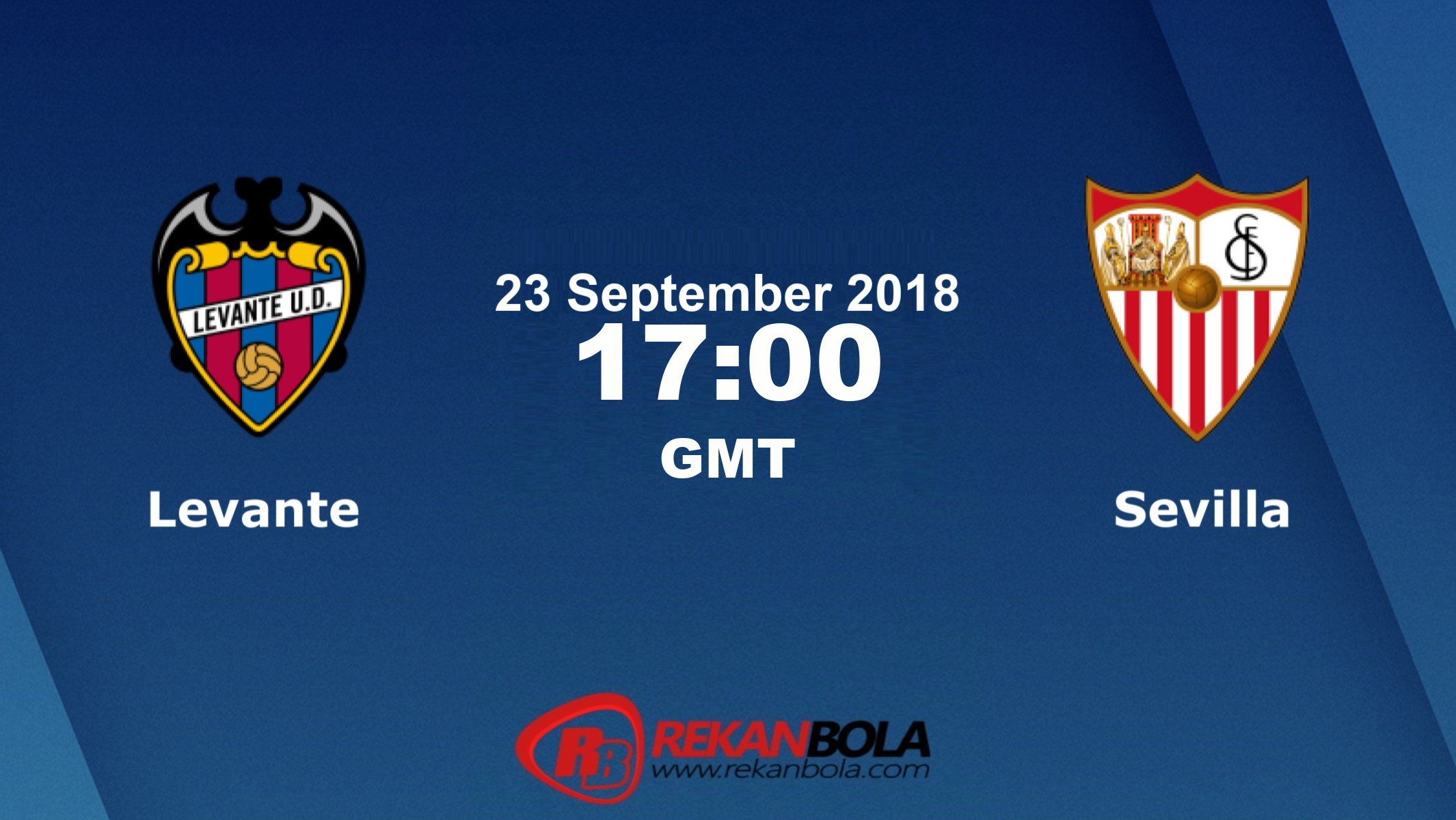 Nonton Siaran Live Streaming Levante Vs Sevilla 23 September 2018