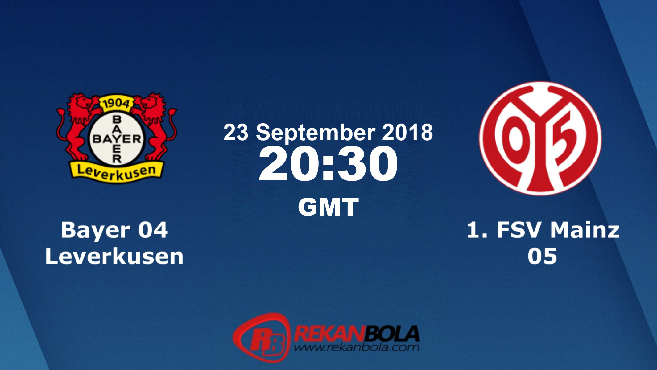 Nonton Siaran Live Streaming Leverkusen Vs Mainz 23 September 2018