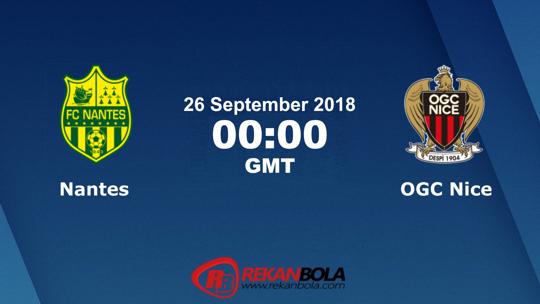 Nonton Siaran Live Streaming Nantes Vs Nice 26 September 2018