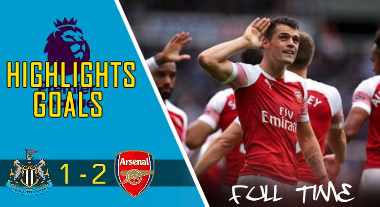 Video Gol Newcastle United vs Arsenal (1 – 2)