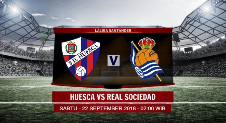 Prediksi Skor Huesca vs Real Sociedad 22 September 2018
