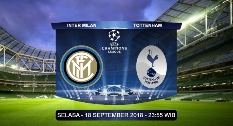 Prediksi Skor Inter vs Tottenham 18 September 2018