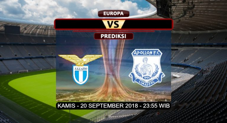 Prediksi Skor Lazio vs Apollon 20 September 2018