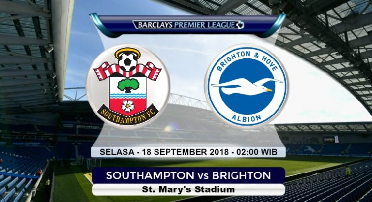 Prediksi Skor Southampton vs Brighton 18 September 2018