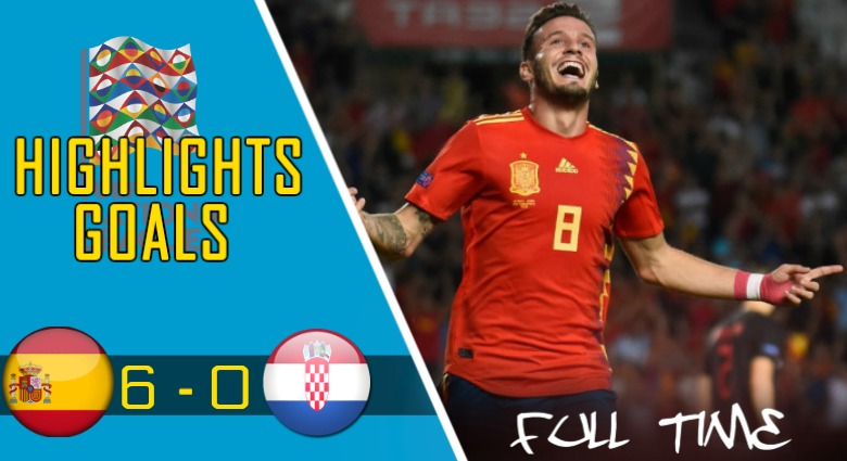 Highlights UEFA Nations League: Spanyol vs Kroasia (6 – 0)