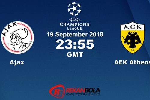 Nonton Siaran Live Streaming Ajax Vs AEK Athens 19 September 2018