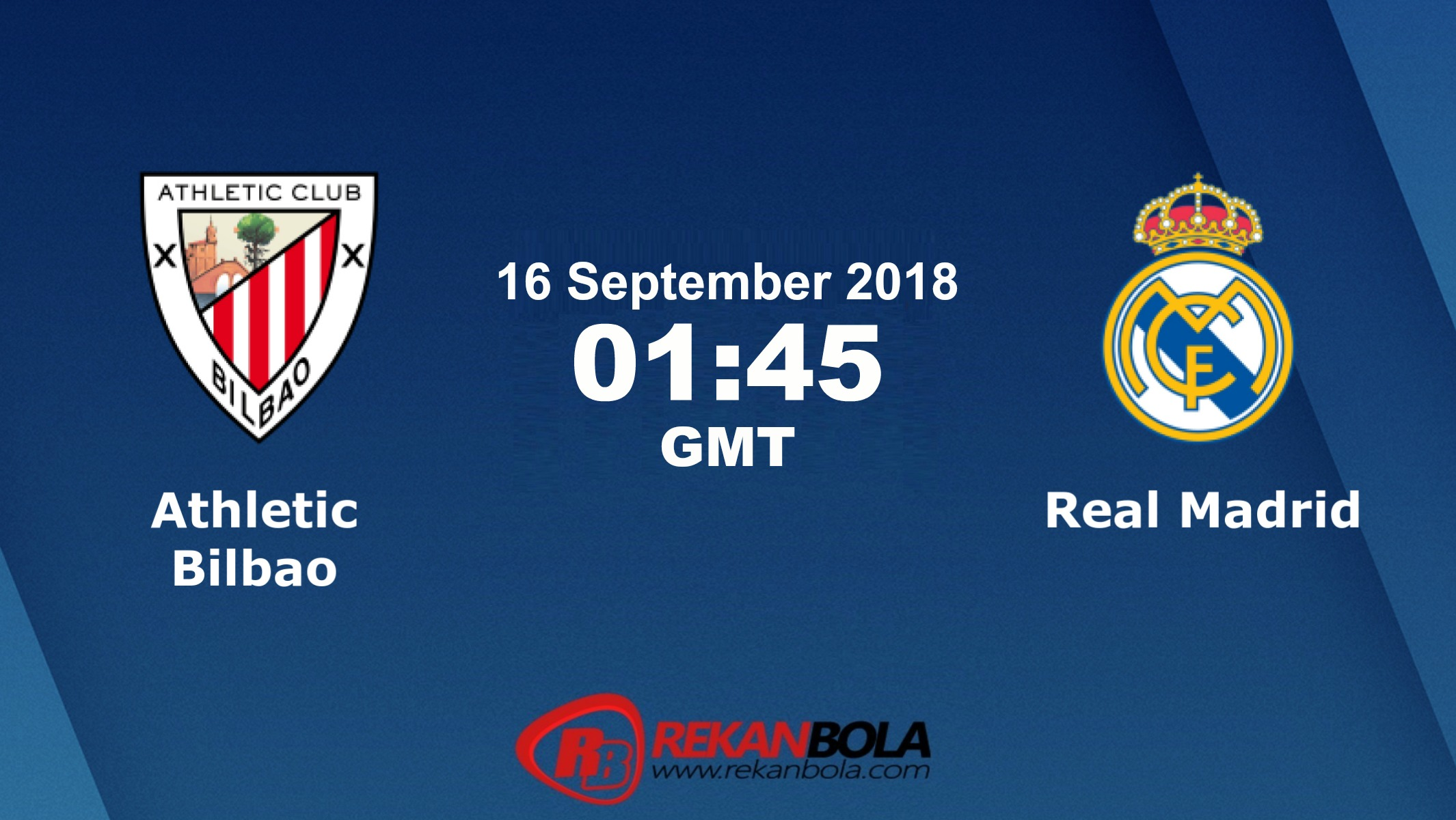 Nonton Siaran Live Streaming Bilbao Vs Madrid 16 September 2018