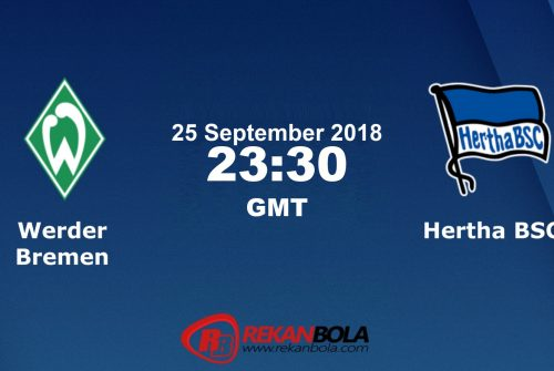 Nonton Siaran Live Streaming Bremen Vs Berlin 25 September 2018