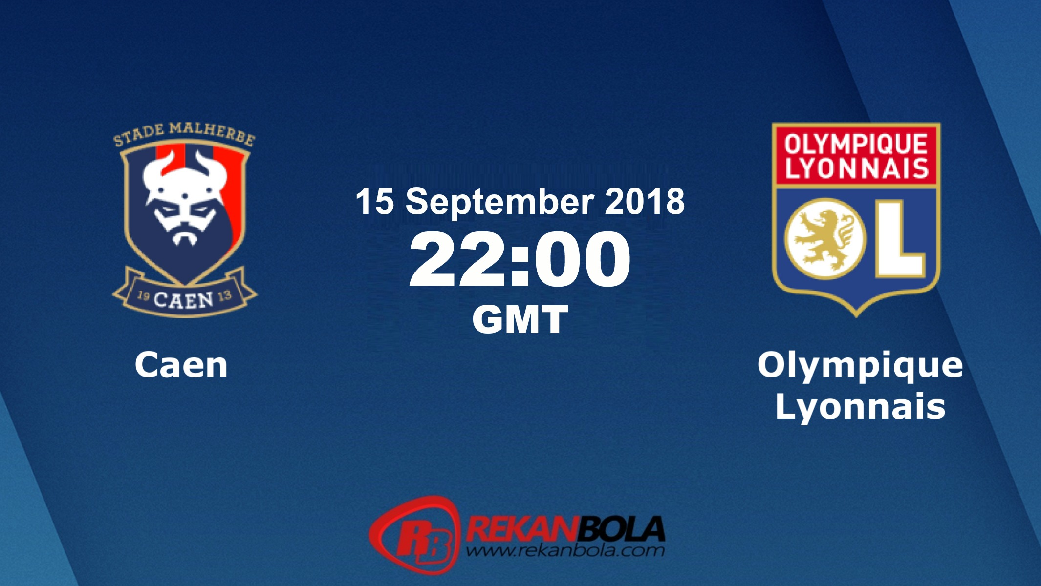 Nonton Siaran Live Streaming Caen Vs Lyon 15 September 2018