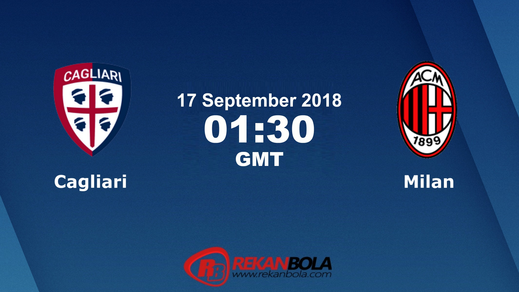 Nonton Siaran Live Streaming Cagliari Vs AC Milan 17 September 2018