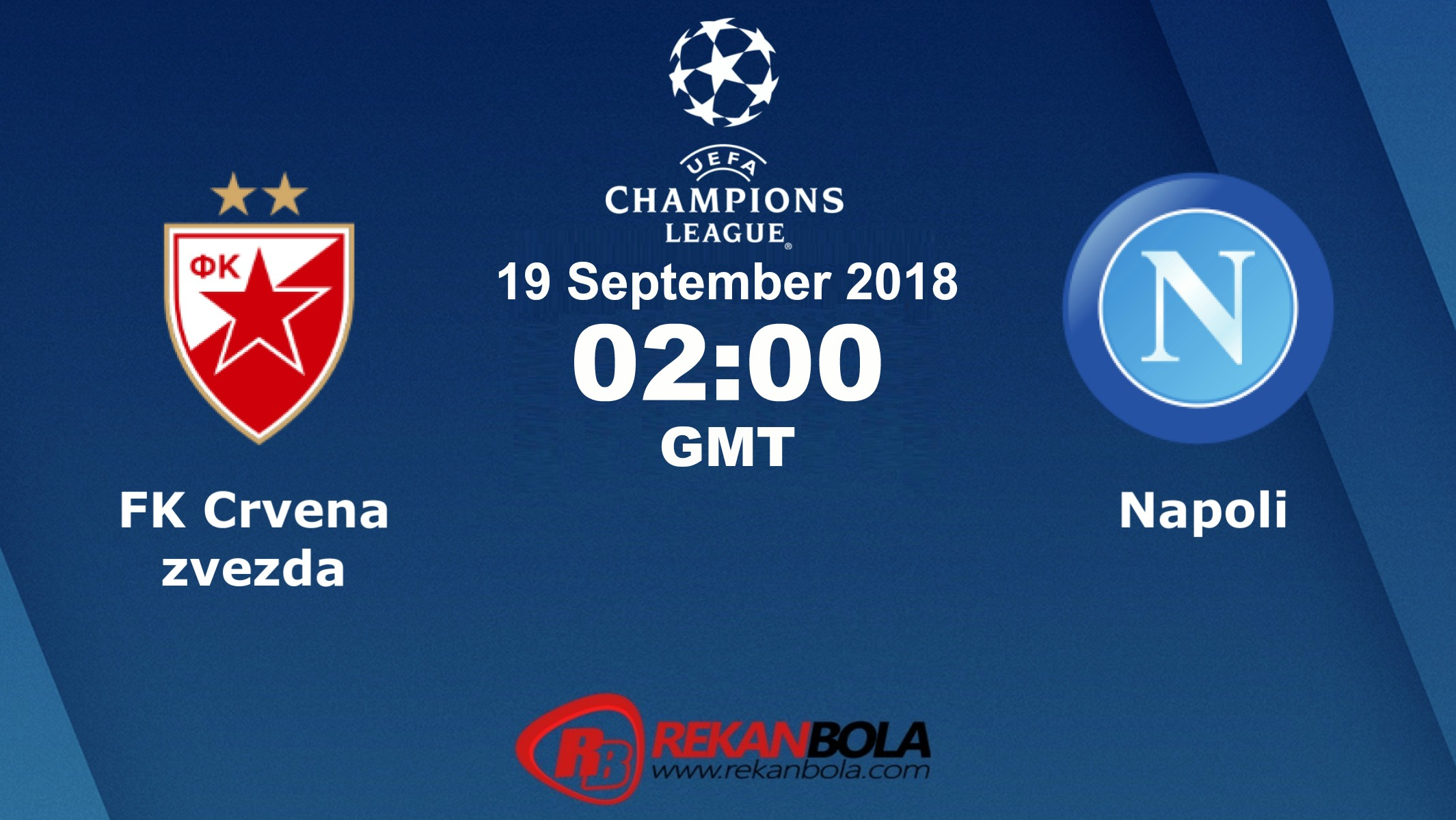 Nonton Siaran Live Streaming Crvena Vs Napoli 19 September 2018