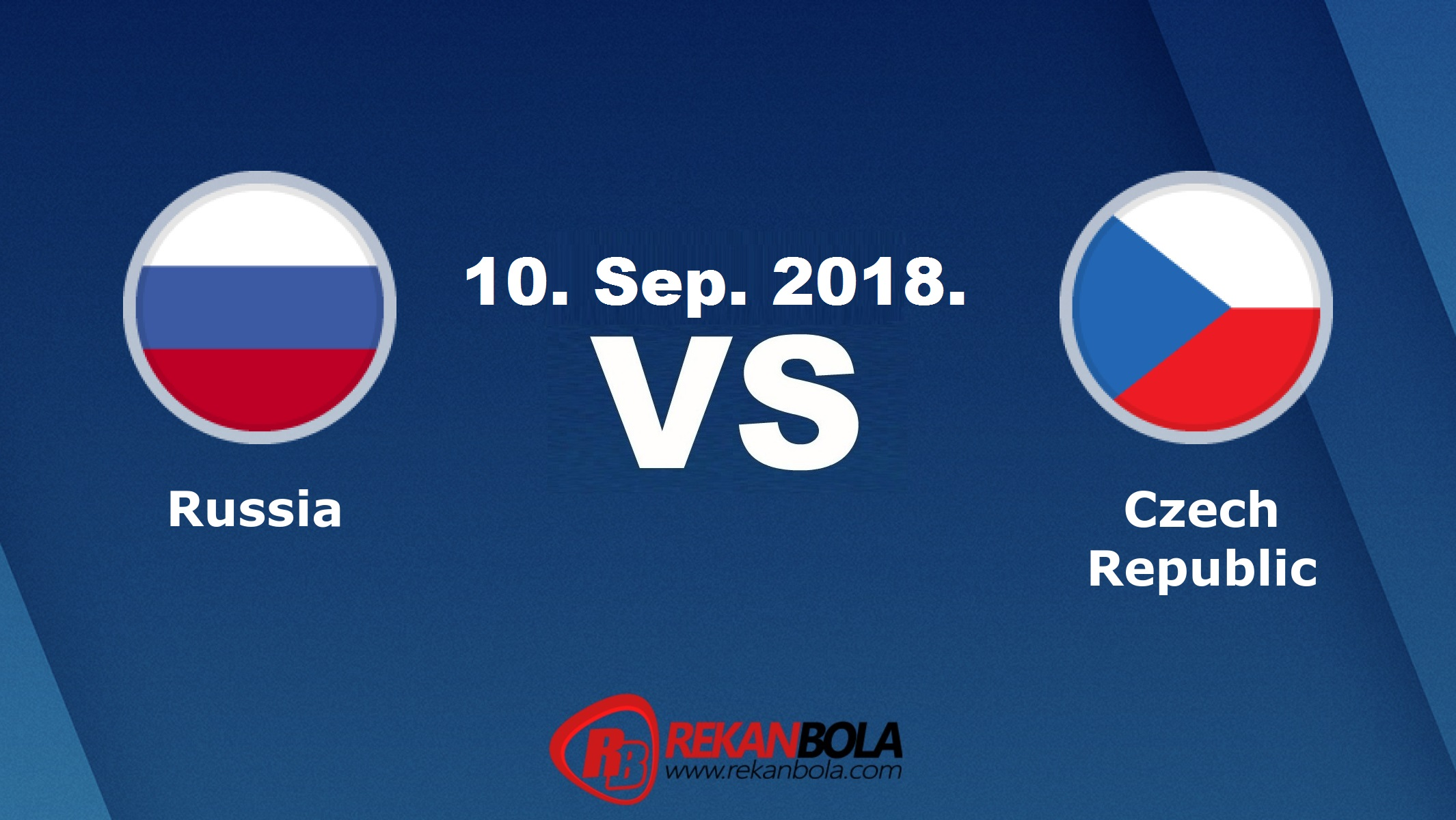 Nonton Siaran Live Streaming Russia Vs Czech Republic 10 September 2018