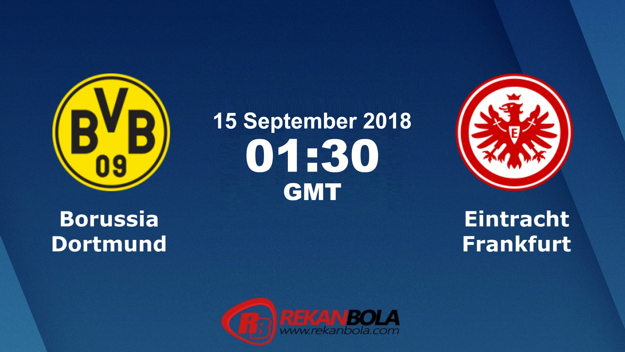Nonton Siaran Live Streaming Dortmund Vs Frankfurt 15 September 2018