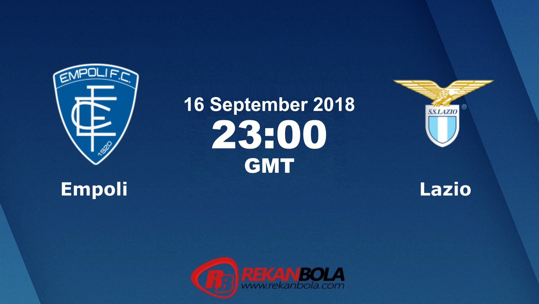 Nonton Siaran Live Streaming Empoli Vs Lazio 16 September 2018