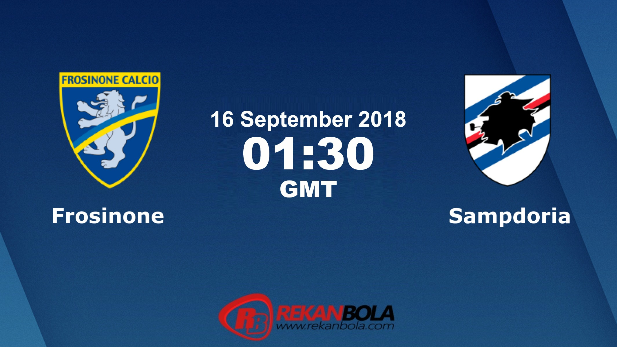 Nonton Siaran Live Streaming Frosinone Vs Sampdoria 16 September 2018