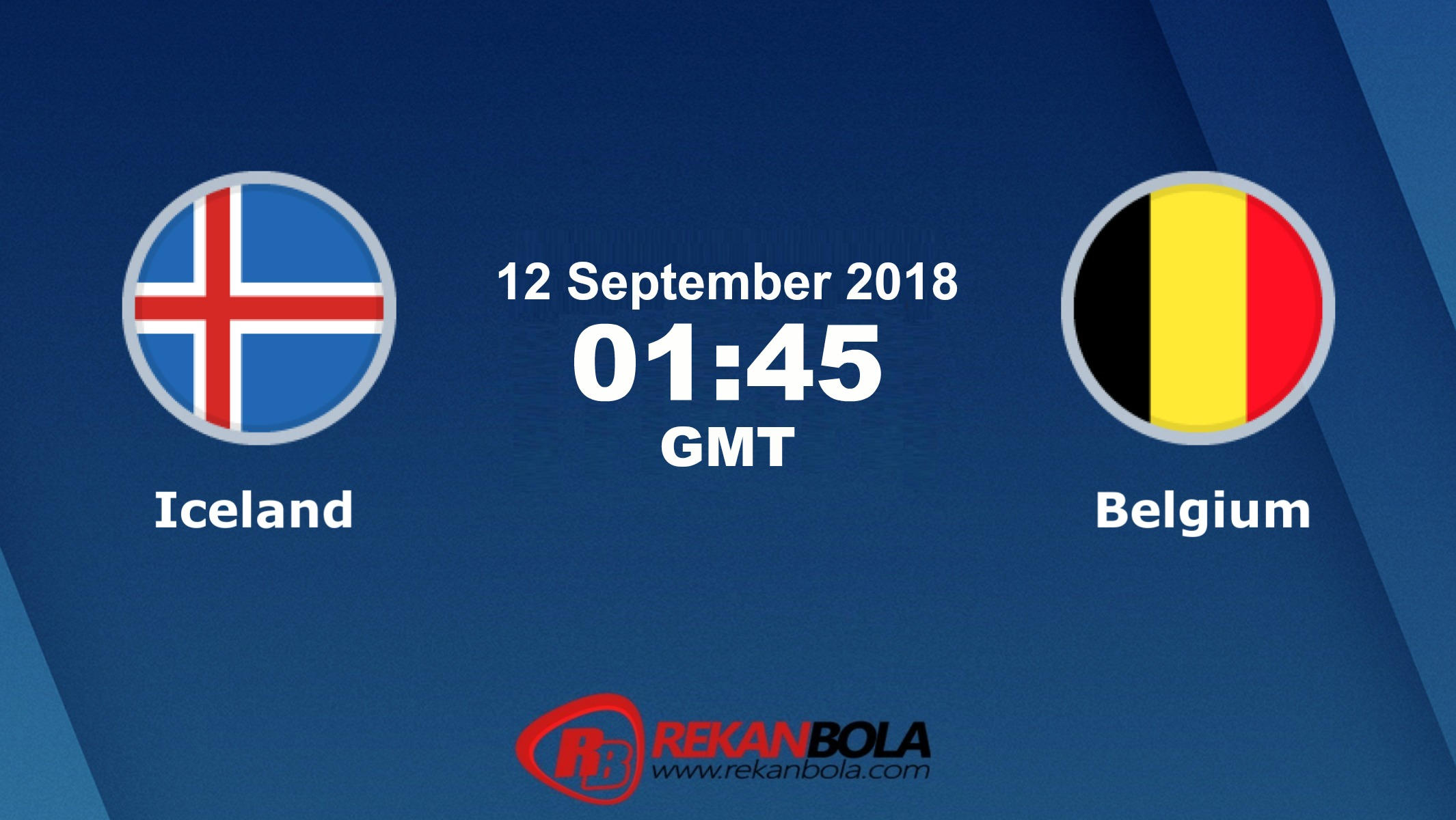 Nonton Siaran Live Streaming Islandia Vs Belgia 12 September 2018