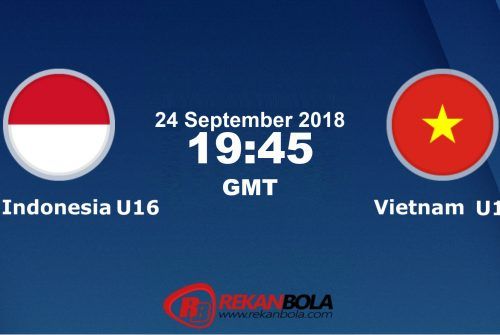 Nonton Siaran Live Streaming Indonesia U16 Vs Vietnam U16 24 September 2018