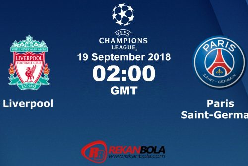 Nonton Siaran Live Streaming Liverpool Vs PSG 19 September 2018