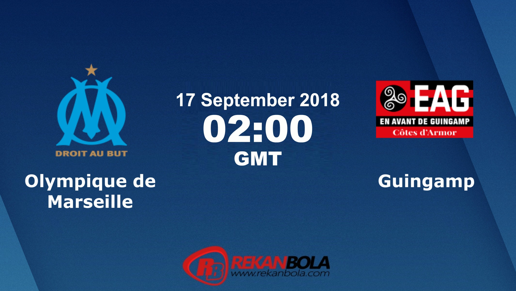 Nonton Siaran Live Streaming Marseille Vs Guingamp 17 September 2018
