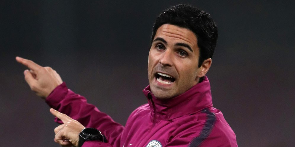 Tak Jadi Latih Arsenal, Arteta Bahagia di Man City