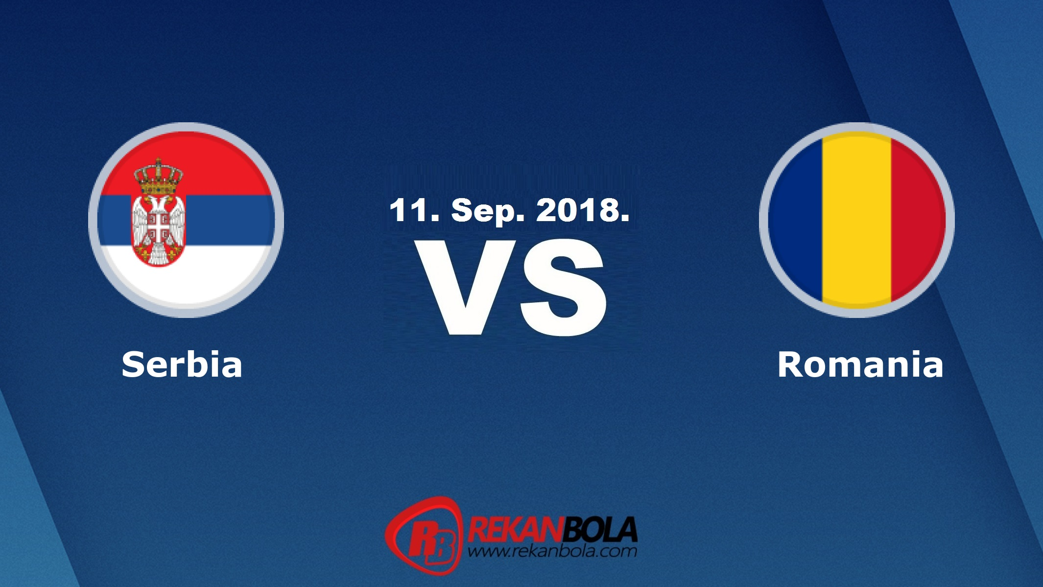Nonton Siaran Live Streaming Serbia Vs Rumania 11 September 2018