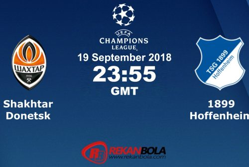 Nonton Siaran Live Streaming Shakhtar Vs Hoffenheim 19 September 2018