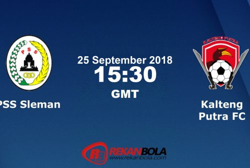 Nonton Siaran Live Streaming PSS Sleman Vs Kalteng 25 September 2018