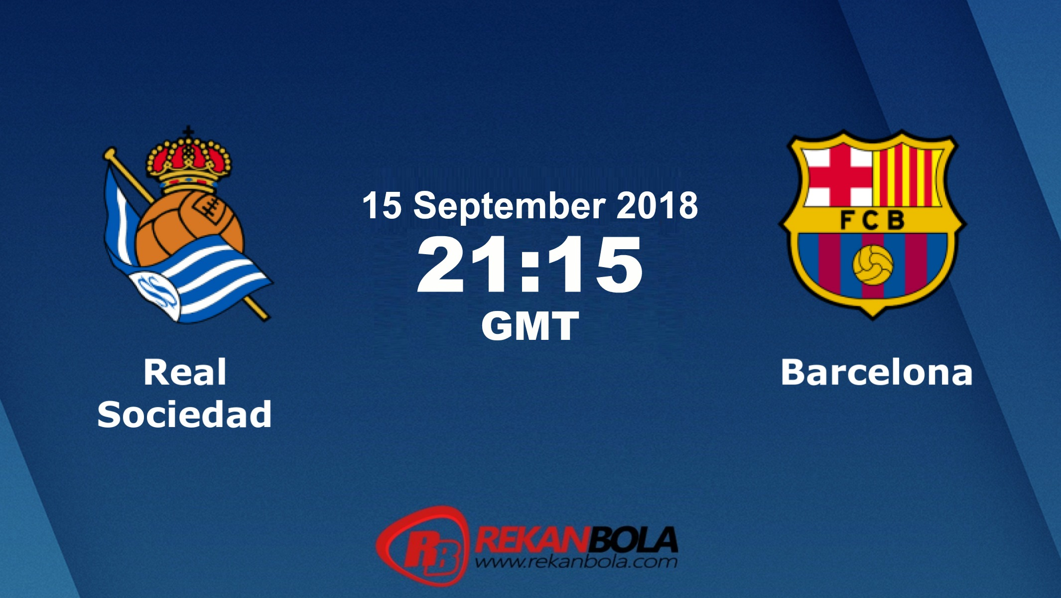 Nonton Siaran Live Streaming Sociedad Vs Barcelona 15 September 2018