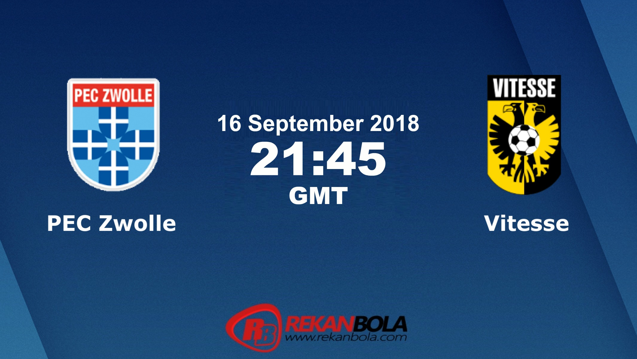 Nonton Siaran Live Streaming Zwolle Vs Vitesse 16 September 2018